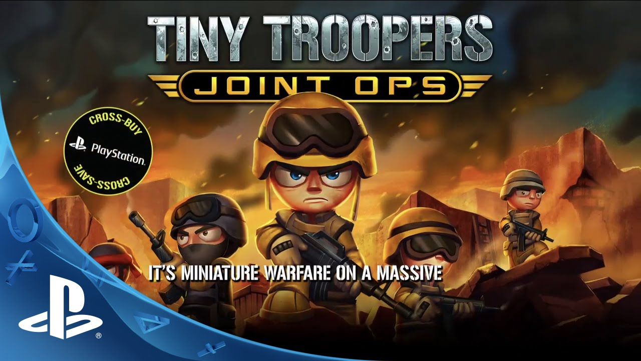 See Mini Maps of Mayhem in Tiny Troopers Joint Ops Trailer