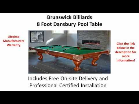 Man Cave Must Have 8 Foot Brunswick Pool Table Mp3