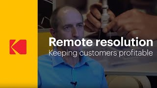 KODAK Service & Support – Remote resolution