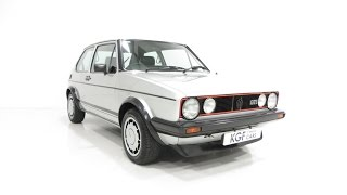 preview picture of video 'A Legendary Mk1 Volkswagen Golf GTi Campaign Edition with VW History. SOLD!'