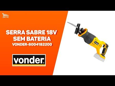 Serra Sabre 18V sem Bateria - Video