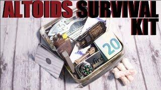 Altoids Tin -- Mini Survival Kit
