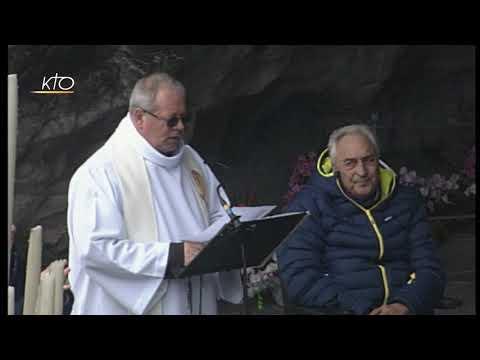 Chapelet à Lourdes du 2 avril 2019