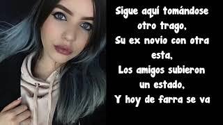 Karen Méndez • Otro Trago (LETRA) (Sech & Darell Cover)