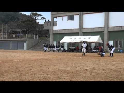 豊見城中学校野球部 2014年1月13日 玉城戦 亘