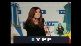 preview picture of video 'Cristina pidió una ley de ética pública para periodistas'
