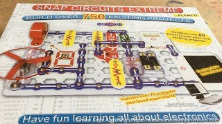 Snap Circuits Extreme SC-750 Review