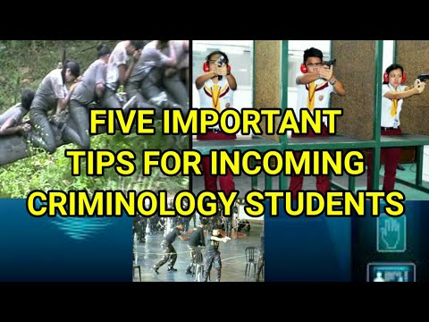 TIPS FOR INCOMING FIRST YEAR CRIMINOLOGY STUDENTS | WISDOM #49
