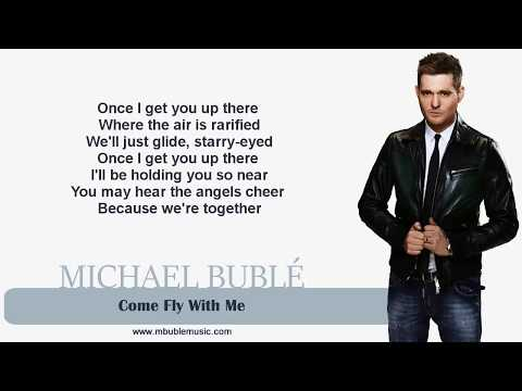 Michael Bublé - Come Fly With Me [Lyrics]