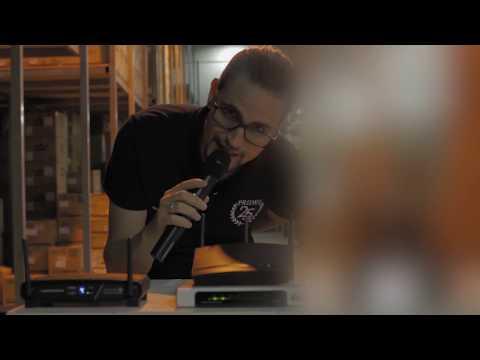 Audio-Technica: Teste comparativo de sistema sem fio - Port/Eng Subtitles