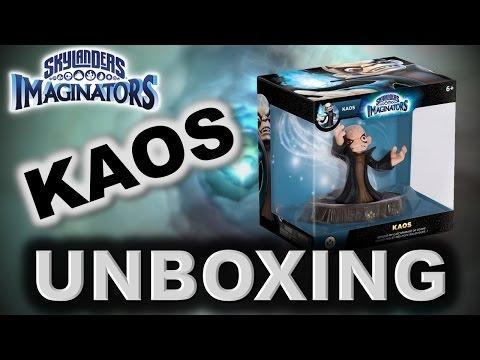 Skylanders Imaginators - KAOS Figure UNBOXING