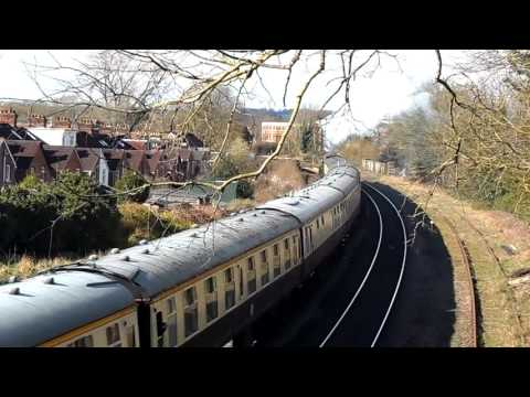 LNER A1 60163 'Tornado' in Salisbury with The Devon Belle 2n…