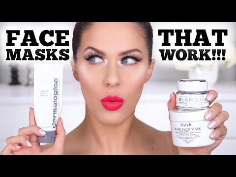 TOP FAVORITE FACE MASKS THAT ACTUALLY WORK!!