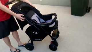 How to fold a pram / stroller - Childcare Discovery XLR Stroller