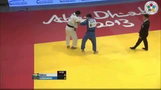 Ramin Gurbanov  Abu Dabi Grand Priex 2013.Judo