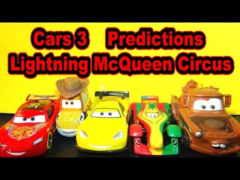 Pixar Cars 3 Trailer Predictions Lightning McQueen Circus Toy Story Car Goes To Radiator Springs WGP