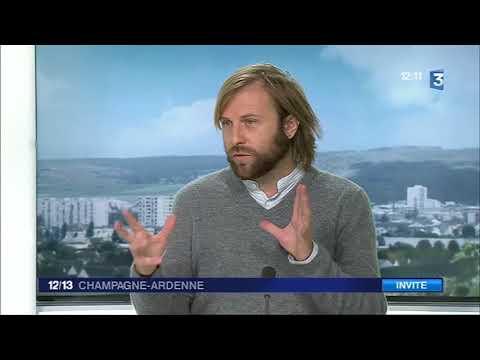 'Nous, les intranquilles' au JT de France 3 (12/13 du 06-09-2017, FR3 Champagne Ardennes)
