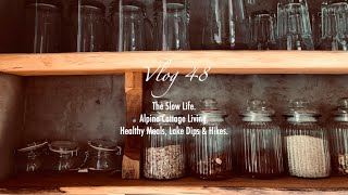 Vlog 48.| Relaxing Travel Diaries - Cottage Living. Slow Hygge Life.