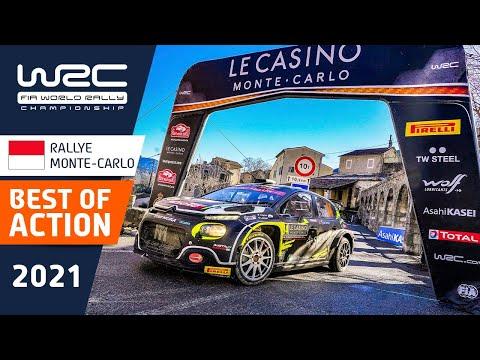 WRC 2021 開幕戦のラリーモンテカルロ ベストアクションのみをまとめたハイライト映像