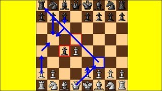 Chess Traps #8: A Trap in the Queen's Gambit Accepted
