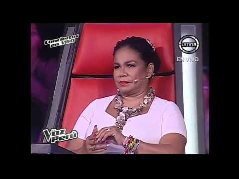 Glenizaida Almanzar canta El frio de tu adiós - La Voz Perú - Conciertos en vivo - Temporada 2