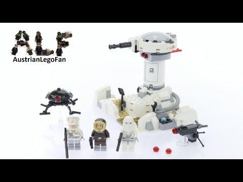 Vidéo LEGO Star Wars 75138 : L'attaque de Hoth