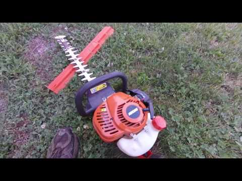 HC 152 ECHO Hedge Trimmer!!!!!! REVIEW