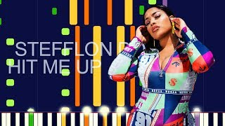 "Stefflon Don   HIT ME UP (PRO MIDI REMAKE)   ""in The Style Of"""