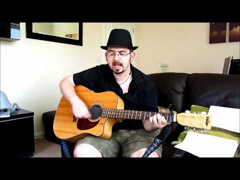 Live In The Living Room: Matt Finn: Counting Crows cover