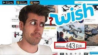 J'AI ACHETÉ UN DRONE SUR WISH | TEST
