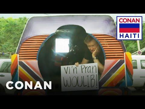 Conan na Haiti #3: Divoká jízda městem - CONAN