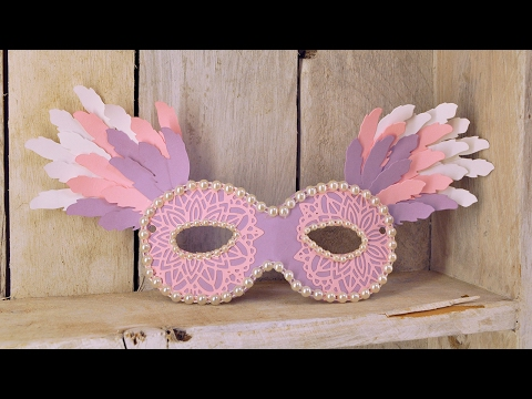 Mardi Gras Mask Make