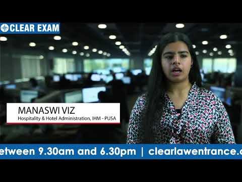 IHM Pusa Result Student Testimonial - Manasvi
