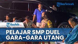 Pelajar SMP di Bungo Duel Gara-gara Utang Piutang Rp20 Ribu, Polisi Turun Tangan Menindaklanjuti
