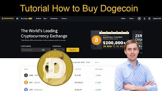 Tutorial How to Buy Dogecoin (Doge) on Binance ✅