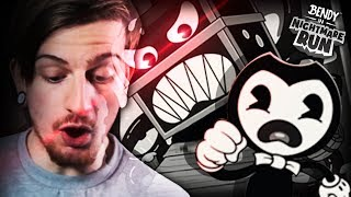 BENDY.. WHAT DID YOU DO!? || Bendy In Nightmare Run (Episode 1 COMPLETE)