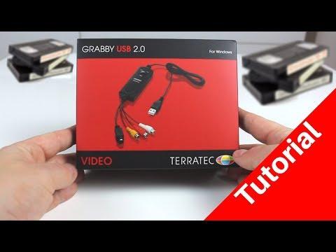 Wie kann ich VHS Kassetten digitalisieren??? Terratec Video Grabber