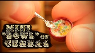 """The World's Tiniest """"BOWL"""" of Cereal!"""