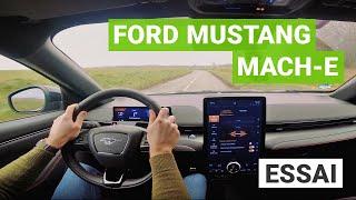 Essai Ford Mustang Mach-E : un V8 électrique !? [Partie 2/2]