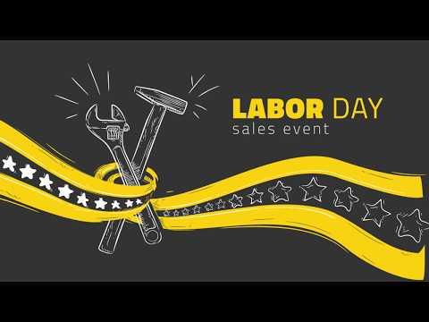 Labor Day Sales Event - 2018