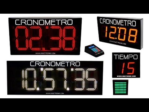 Video Cronometros Digitales Deportivos Ingetronik