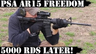 Palmetto State Armory AR15 Freedom 5000rds Later THE END