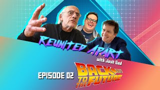 """Great Scott! Things get heavy during Episode Two of """"Reunited Apart"""" as Josh is joined by the creative geniuses behind the Back to the Future trilogy. Make like a tree and leave your YouTube page subscribed to our channel!   Directed by James Merryman Produced by James Merryman and Meghan Monaco Executive Produced by Taylor Stuewe Edited by Will Newell  """"Reunited Apart"""" Theme Song by Kate Anderson and Elyssa Samsel Sung by Kate Anderson  Opening Credits by Ryan Kravetz   FEATURING: Christopher Lloyd Michael J. Fox and Special Guests!   Clips provided by Universal Pictures   MUSIC PROVIDED BY:  Back To The Future Theme Composed by Alan Silvestri Courtesy of Universal Pictures  Power of Love Performed by The Cast of Back To The Future: The Musical Courtesy of Colin Ingram Ltd.  APM Music"""