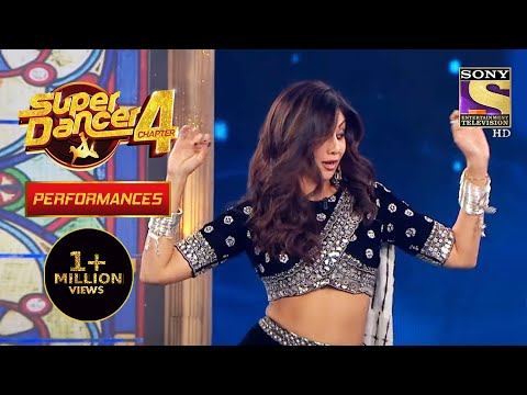 Shilpa ने दिखाए अपने Dance Moves| Super Dancer 4 | सुपर डांसर 4
