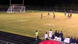 Logan Shytle Bicycle Kick Goal Heritage High School Playoff Game