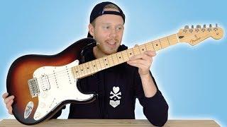 UNBOXING A Fender Stratocaster Guitar & Line 6 Amp