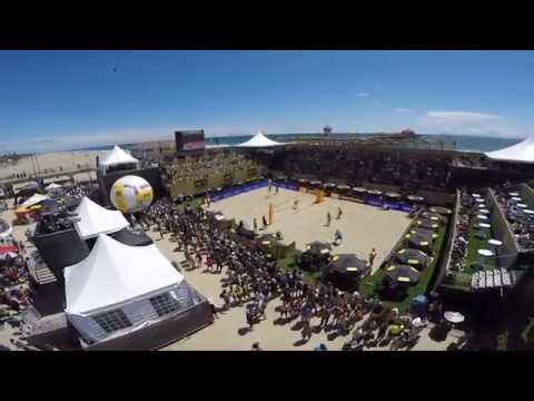 AVP Beachvolleyball Tour, Huntington Beach 2016