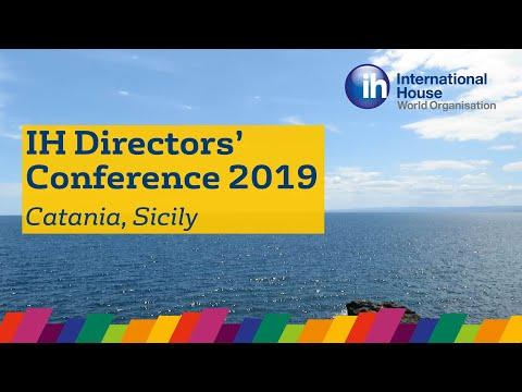 IH Directors' Conference 2019 – Catania, Sicily