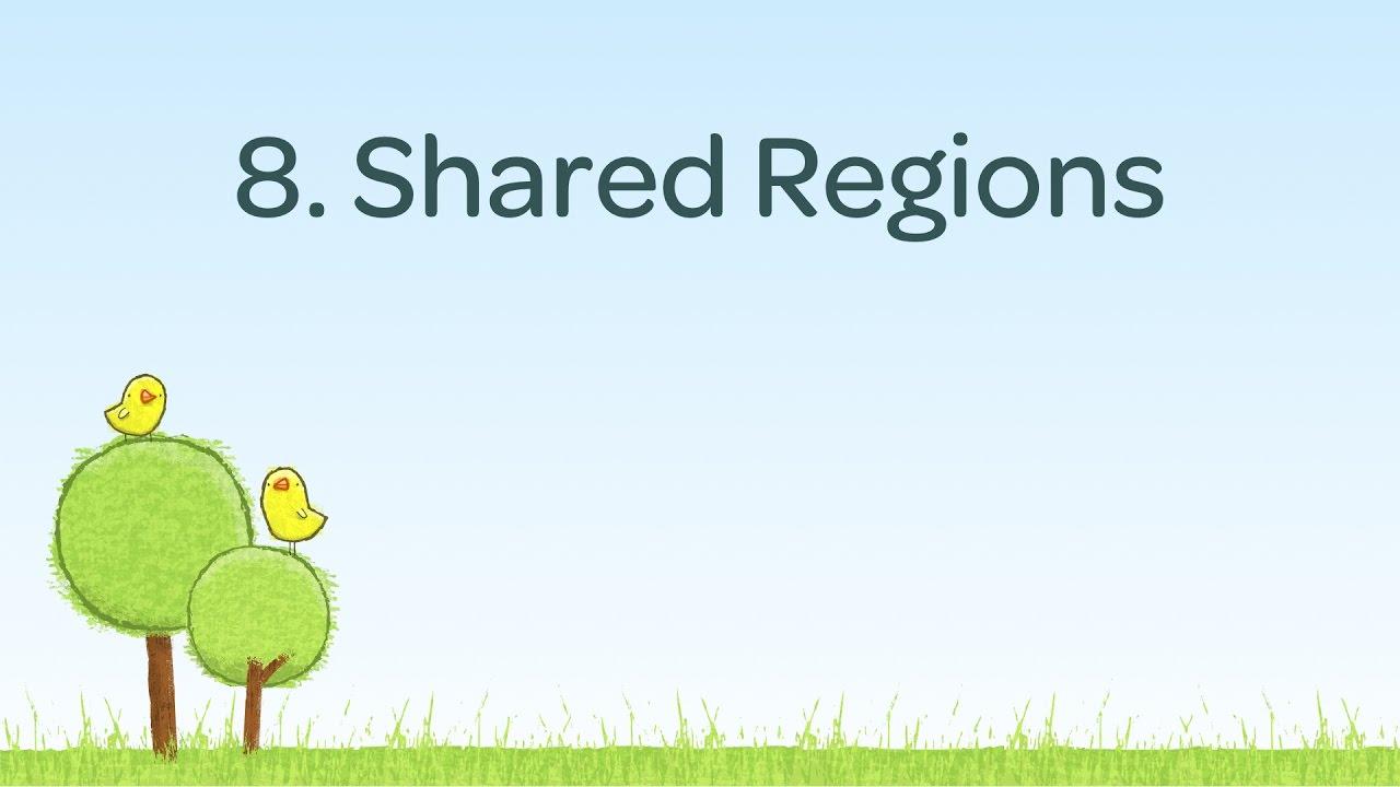 Shared Regions