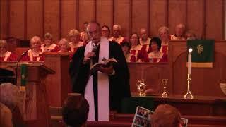 """Sermon: """"Got Rocks?""""; Scripture Reading: John 8:1-11; Rev. David Warner, Sunday October 15"""